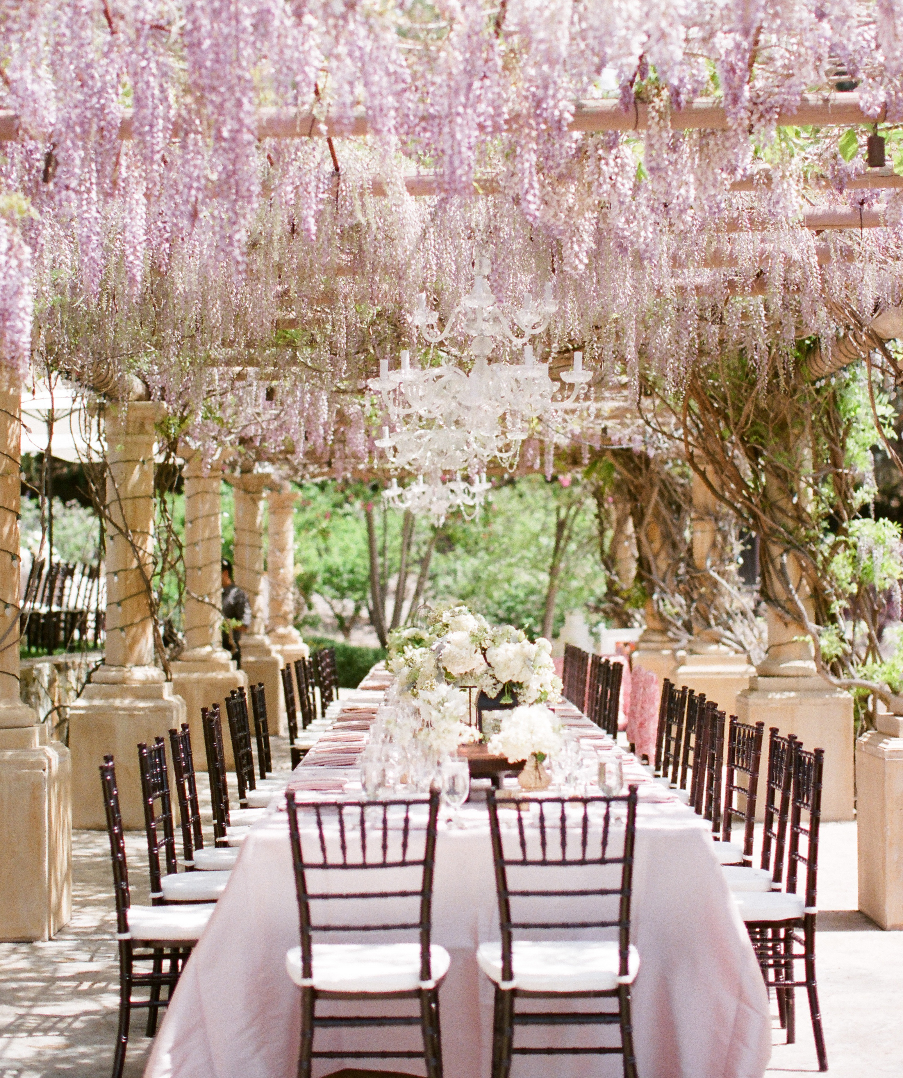 canopy_wisteria_over_wedding_table & Wedding Drool-Fest | Costa Kitchen